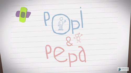 imagen a video popi y pepa