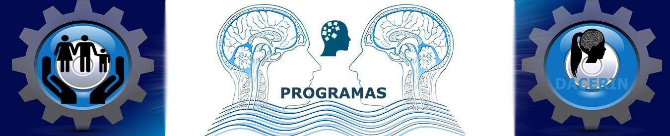 PROGRAMAS DACERIN: atención temprana,alteraciones del desarrollo,terapia grupal