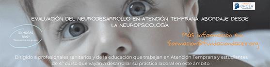 Curso neurodesarrollo en atencion temprana